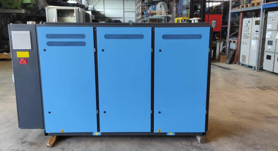 50 KW MAN gas CHP generator E0834 E302 from KW Energie for sale.